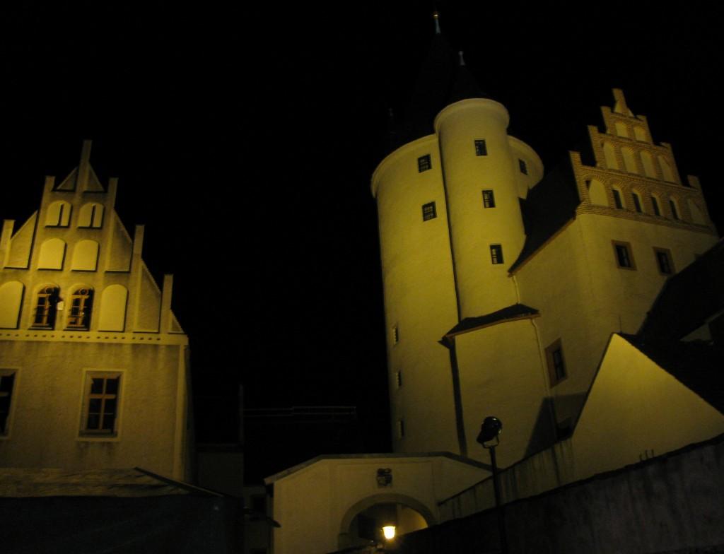 Schloss Schwarzenberg bei Nacht