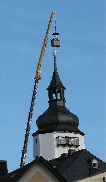 Kirchturm Kran 2