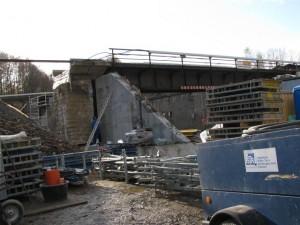 Baustelle Viadukt