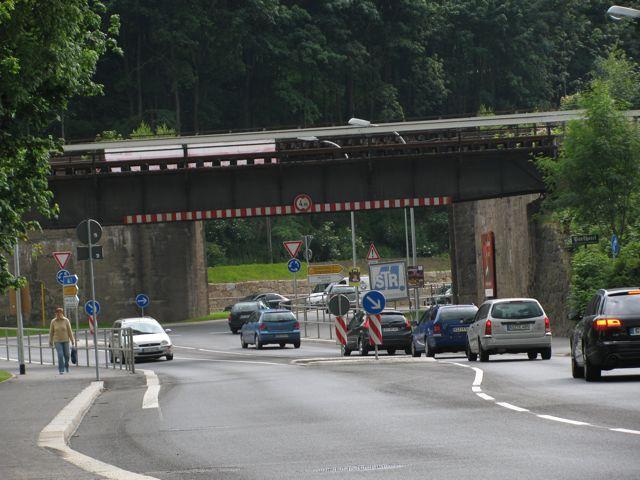 Kreisverkehr Viadukt