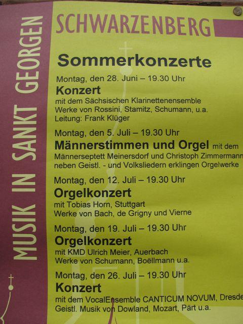 Sommerkonzerte St. Georgen