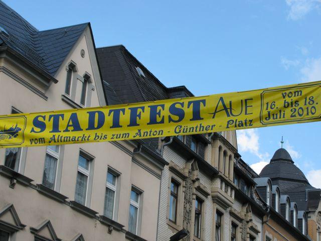 Stadtfest Aue 2010