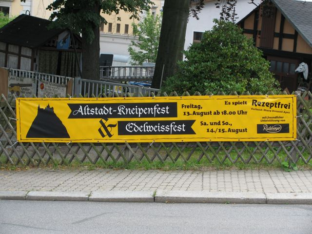 Kneipenfest Schwarzenberg 2010