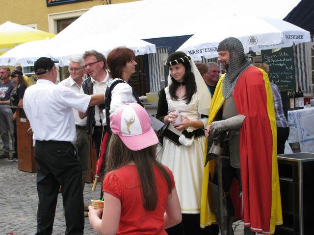 Ritter und Burgfräulein