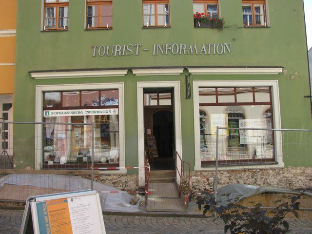 Touristinformation vorher