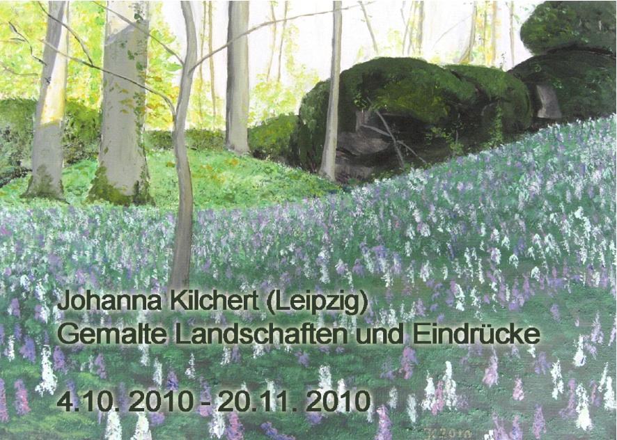 Ausstellung Johanna Kilchert