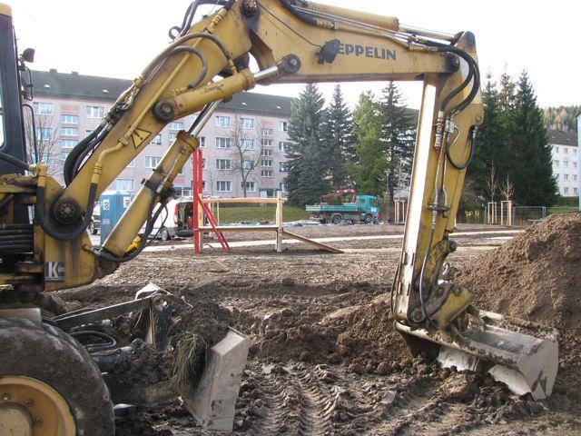Hofgarten Baustelle