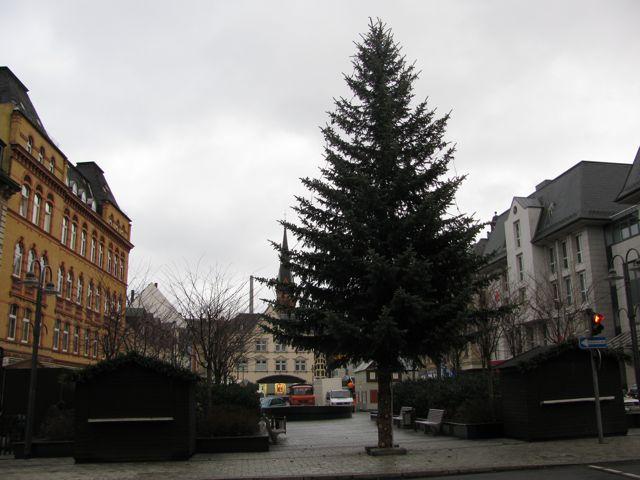 Weihnachtsbaum Aue 2010