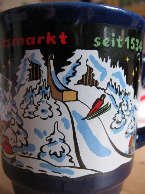 Weihnachtsmarkttasse 2010