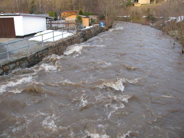 Hochwasser Januar