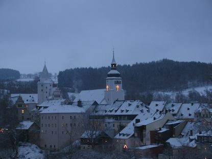 Kirche und Schloss Schwarzenberg / Schwarzenberg-Blog