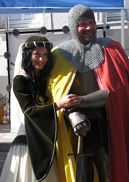 Burgfräulein Edelweiß und Ritter Georg, Schwarzenberg