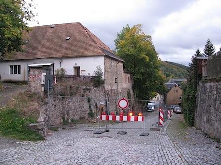 Alter Eiskeller, Alte Schneeberger Straße, Schwarzenberg // Schwarzenberg-Blog
