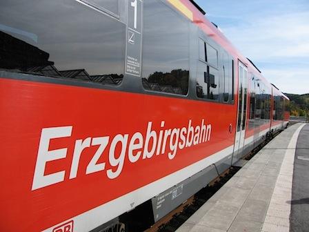 10 Jahre Erzgebirgsbahn, Oktober 2012, Schwarzenberg
