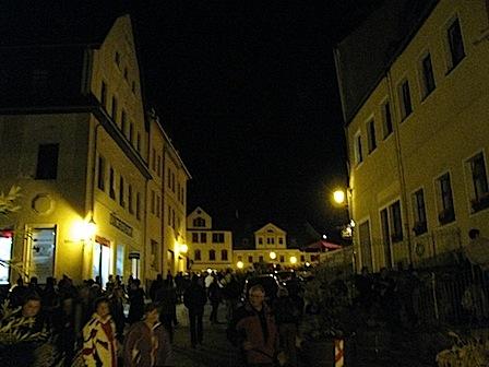 Nacht der Lichter, Schwarzenberg, 19.10.2012