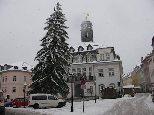 Weihnachtsbaum 2012, Schwarzenberg Erzgebirge