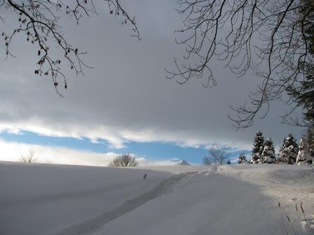 Winter, Schnee, Galgenberg