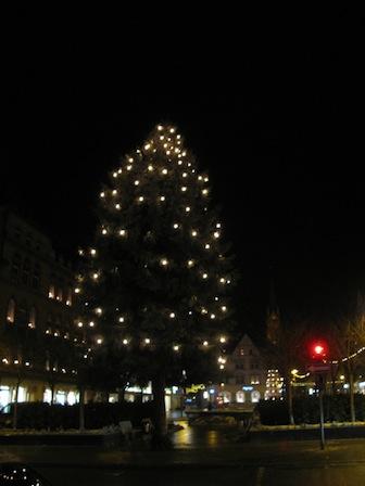 Weihnachtsbaum 2012 Aue