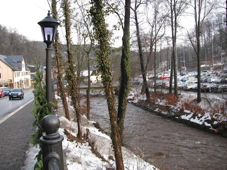 Schwarzwasser, Winter