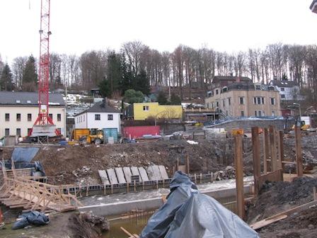 Egermannbrücke Baustelle