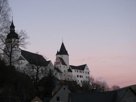 Schloss und Kirche Schwarzenberg