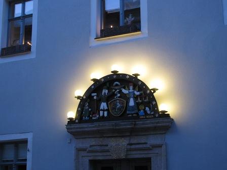 Schwibbogen Altstadt Schwarzenberg