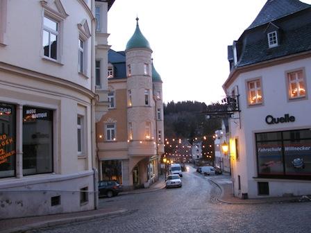 Altstadt Schwarzenberg Erzgebirge