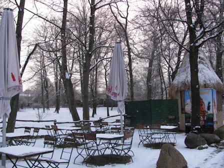 Winter im Zoo Leipzig
