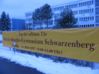 Bertolt-Brecht-Gymnasium, Tag der offenen Tür 2013