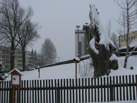 Heide, Park am Ärztehaus