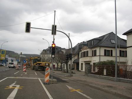 Baustelle Schwarzenberg