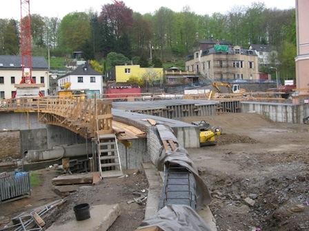 Baustelle Egermannbrücke