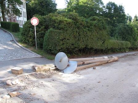 DDR-Straßenlaterne