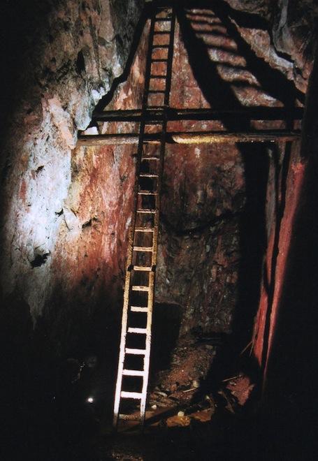 Bergbaustollen Mauritius Hrebecna