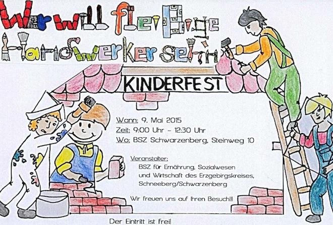 Kinderfest des BSZ Schwarzenberg