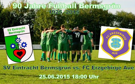 SV Eintracht Bermsgruen gegen FC Erzgebirge Aue