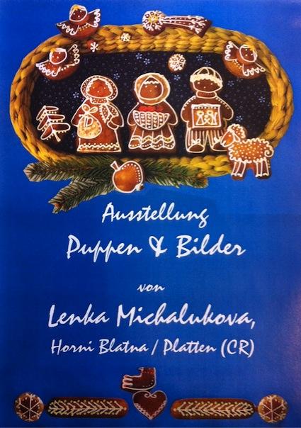 Plakat Ausstellung Lenka Michalukova