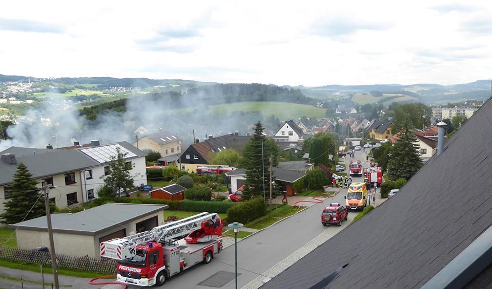 Feuerwehreinsatz-Heide